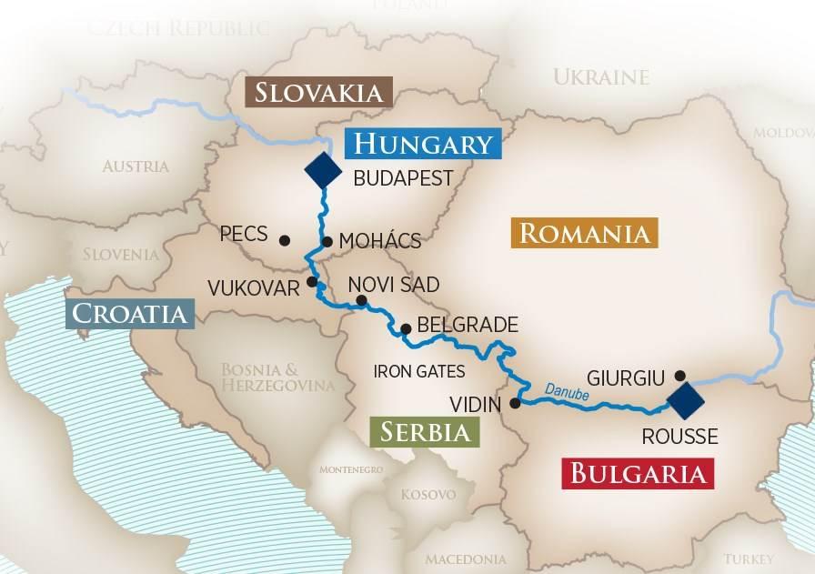 AmaWaterways Danube River Cruise Budapest to Giurgiu