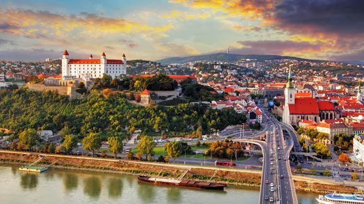 Bratislava on the Danube